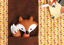 """"""" Free Pattern & Tutorial for this sweet Fox & Blankie Play Set: From Abby Glassenberg of While She Naps, on Timeless Treasures. Love Sewing, Sewing For Kids, Baby Sewing, Sewing Patterns Free, Sewing Tutorials, Sewing Projects, Free Pattern, Fox Crafts, Baby Crafts"""