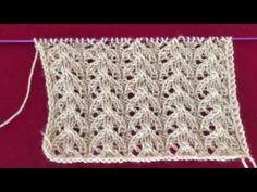 Knit with a needle - crochet patterns Knitting Basics, Knitting Stitches, Free Knitting, Knitting Projects, Baby Knitting, Crochet Projects, Knitting Patterns, Crochet Patterns, Knit Stitches