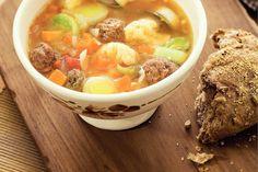 Pittige winterse groentesoep - Recept - Allerhande