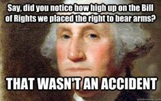 MT @LeahR77: Right To Bear Arms Was No 'Accident' On The Founders Part ! #TCOT #COSProject #PJNET