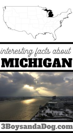 These five interesting facts about Michigan include books, activities, and crafts to help you teach a well-rounded unit study about this State. #stateunitstudies #unitedstates #learningaboutMichigan #3boysandadog Geography Lesson Plans, Geography Activities, Pop Goes The Weasel, States And Capitals, State Of Michigan, Forest Fairy, Chapter Books, Life Cycles, Interesting Facts