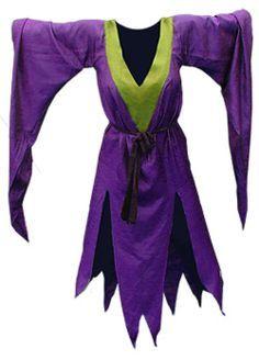 Hexen- oder Vampirkostüm - kostenlose Nähanleitung inkl. Schnittmuster