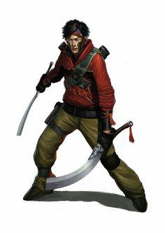 Cyber swordsman