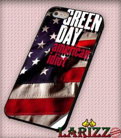 """Green Day American Idiot for iPhone 4/4s, iPhone 5/5S/5C/6/6 , Samsung S3/S4/S5 Case """"005"""""""