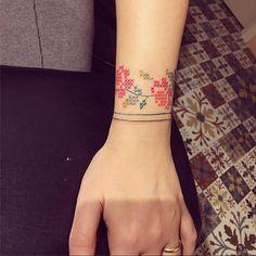 cross stitch十字繡紋身刺青hokk fabrica香港線上雜誌