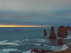 Sunset at the 12 Apostles! #wanderaustralia #seeaustralia #greatoceanroad #12apostles #sunset #view #Nature #fantastic_earth #wanderlust #worlderlust #earth #followmyjourney #travellingtheworld #travelgirl #theglobaljourney #journey #australiaviews by dominique.vsteijn http://ift.tt/1ijk11S