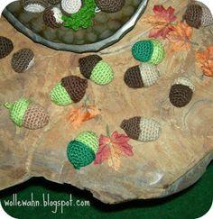 7 Besten Eicheln Häkeln Bilder Auf Pinterest Crochet Pattern