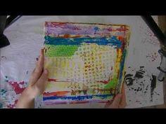 Art journal book mixed media