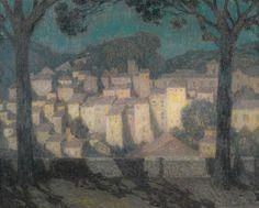 le sidaner, henri le village a ||| townscape ||| sotheby's l17004lot7p6qken