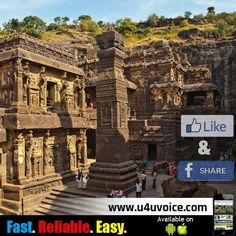 #KnowYourTemples   The legend of Kailash Temple and the mystery behind its architecture Read Here: http://u4uvoice.com/?p=241424