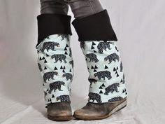 Brrrr…. Ist das kalt. Und die Stiefel schaffen's auch nicht, Deine Beine warm zu halten? Dann nähe Dir Deine eigenen Beinstulpen vom Blog leni pepunkt. Yvonne zeigt Dir in diesem DIY blitzschnell, wie's gemacht wird.