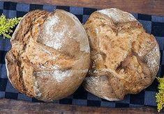 Leckeres Brot ohne viel Schnickschnack