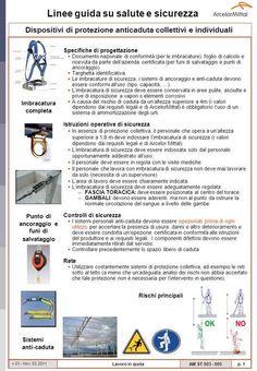 Dispositivi di protezione anticaduta collettivi e individuali