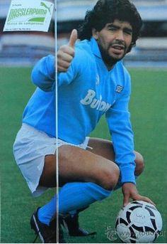 Diego Armando Maradona. Nápoli 1987.