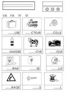 Worksheets 680888037401704025 - confusion syllabes – la maternelle de Camille Source by macsteppe Learning To Write, Writing Practice, Speech Language Pathology, Speech And Language, Fun Activities For Kids, Learning Activities, Preschool Planner, French Worksheets, French Language Lessons
