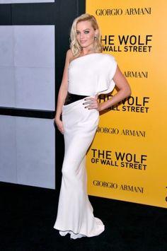 Margot Robbie In Armani Privè