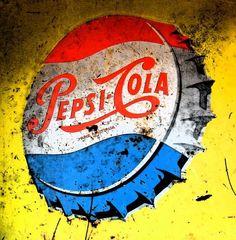 Pepsi cap pop art