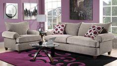 nice carpet!  Emmanuel Upholstery Collection - Leons