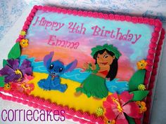 Lilo and Stitch - Cake by Corrie