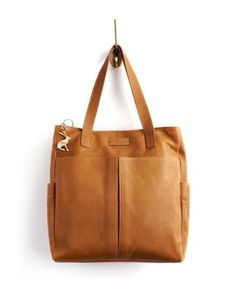 Joules null Womens Leather Bag, Tan.                     Easy to carry along, elegant to look at and in a crop of fresh new colours – the Richmond Bag is quickly become a classic. A true investment if ever there was one. In leather that will gain character the more you carry it along.