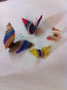Horseweaved butterflies
