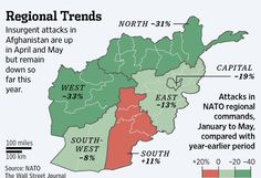 Insurgent attacks in Afghanistan are up in April and May but remain down so far this year