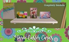 Mod The Sims - Three Fun & Bright Easter Cards for MogHughson's Postal System