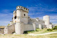 Castello di Cuellar Fotografia Stock Libera da Diritti