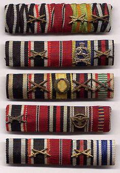 German Ribbon Bars