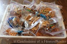 I don't know about you all, but coming up with snacks on the fly is something I am not great at. Unfortunately if left un-attended my kids will grab something non-healthy, or make a gigantic mess with the contents of my pantry. So out of necessity, I've come up with an easy way to store…Read More