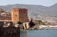 lauluni sadepäivän varalle: Punainen torni (Kızıl Kule) #alanya #turkki #turkey #travel