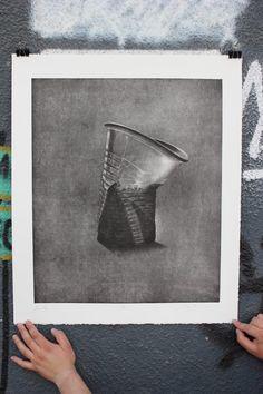 "Zoran Mishe - ""Аutumn thirst I""-etching,aquatint-60x50cm Printmaking, Graphics, Artist, Inspiration, Home Decor, Biblical Inspiration, Decoration Home, Graphic Design, Room Decor"