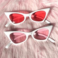 Holiday SALE 🎄 Badass retro cat eye sunglasses with white frames and tinted lenses ~ message Sunglasses For Your Face Shape, Flat Top Sunglasses, Cute Sunglasses, Cat Eye Sunglasses, Sunglasses Women, Sunnies, Vintage Sunglasses, Black Sunglasses, Sunglasses For Sale