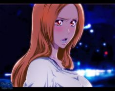 colouring of Orihime from chapter 448 lineart and colouring by me Original Art by Kubo Tite --- a little edit here to give it an anime feel. i wasn't too happy with my previous one since it was a l. Bleach Art, Bleach Manga, Ichigo E Orihime, Anime Manga, Anime Art, Kubo Tite, Anime Screenshots, Fairy Tail Anime, Art Reference Poses