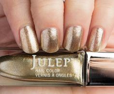 Julep Cheryl (Boho Glam): Gold tinsel metallic - Part of the Very Merry Holiday 2015 set