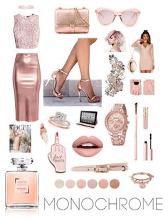 """""""Dreaming in rose gold."""" by mercadis-grantland ❤ liked on Polyvore featuring Aspinal of London, Karen Walker, Valentino, Nevermind, Deborah Lippmann, Allurez, Skinnydip, Monica Rich Kosann, Humble Chic and Alex and Ani"""