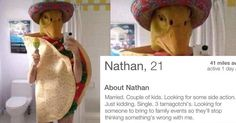 16 Bonkers Tinder Profiles That DARE You to Swipe Right
