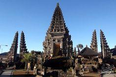 UNESCO Supreme Water Temple of Pura Ulun Danu Batur on Bali, Indonesia