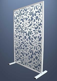 Room divider| Miles and Lincoln | Laser cut screens | Laser cut panels Sliding Room Dividers, Room Divider Doors, Room Divider Screen, Laser Cut Screens, Laser Cut Panels, Living Room Partition, Room Partition Designs, Chinese Room Divider, Zen Home Decor