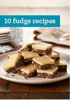 10 Fudge Recipes – Fudge may just be the most delicious treat to give or get: A simple batch of chocolate fudge, with or without nuts, makes anyone's eyes light up. If you'd like tips for melting chocolate for fudge, we've got them.