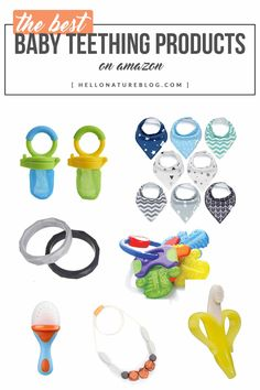 Give your tiny human some relief with the best baby teething products on Amazon. Get everything you need without leaving home or your little one.