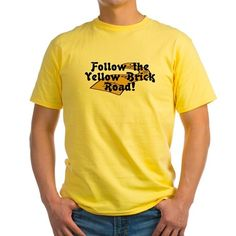 follow-the-yellow-brick-road-2 T-Shirt