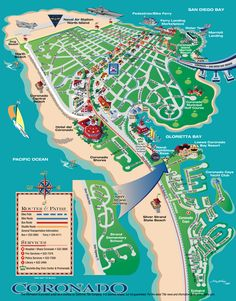 coronado island map of coronado island After my family moved to Encanto East San Diego to Imperial Beach, California as of Even been at the Navy Yard on my Ship. I have been through and on this Island place in my Historical Life. Coronado Resort, Coronado Beach, Coronado Island, Hotel Del Coronado, Coronado San Diego, San Diego Vacation, San Diego Travel, California Vacation, California Dreamin'
