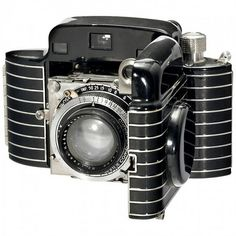1936 Kodak Bantam Special Art Deco Folding Camera