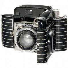 1936 Kodak Bantam Special Art Deco Folding Camera