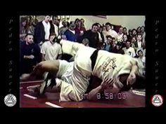 Great old school challenge match: bodybuilder vs. BJJ Black Belt