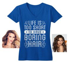 """""""life is too short to have boring hair"""" by caitlan-arnold ❤ liked on Polyvore featuring Coleman"""