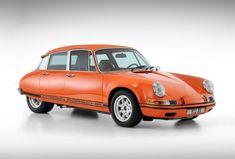 Quando una Citroen DS incontra una Porsche 911: ecco la 911 DS