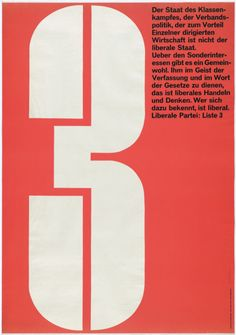 Karl Gerstner 3 Liberale Partei: Liste 3 1959