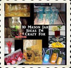 10 Amazing Mason Jar Ideas -